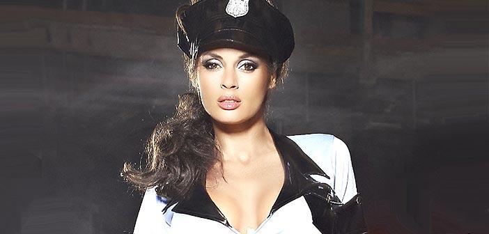Costume sexy de policière