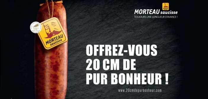 Publicité saucisse Morteau
