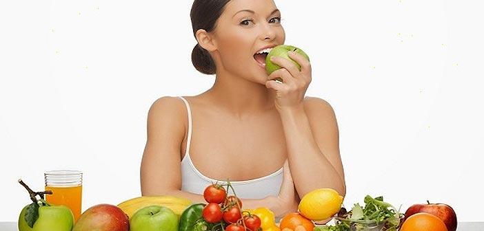 Manger des fruits et légumes