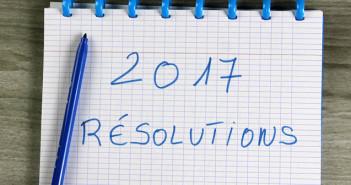 Bonnes résolutions 2017
